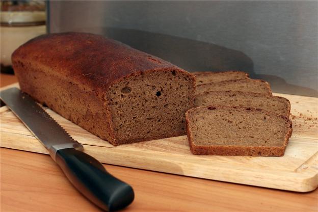 Хлеб пшенично-гречневый на ржаной закваске
